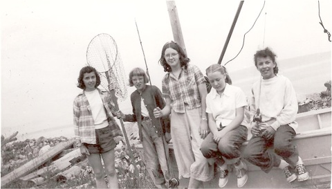 CampFire girls at Greenbank - 1952-53